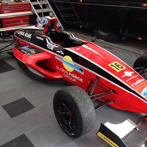 Ashley Sutton Formula Ford Race Car Graphics